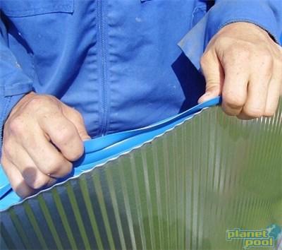 Folija 500 x 300 x 120 cm modra 0,40 mm